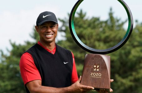 Record Equalled: Woods wins his 82nd PGA Tour title