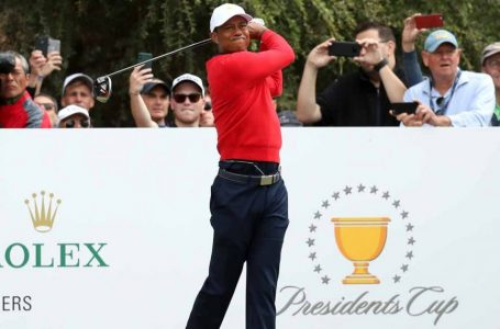 Internationals take 4-1 lead over US in Presidents Cup