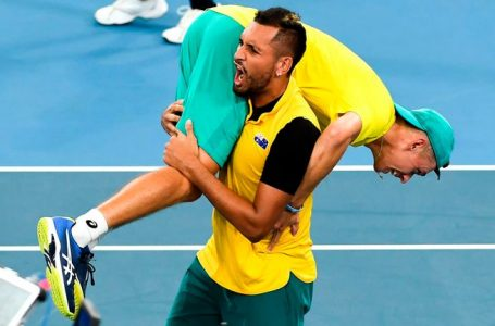 ATP CUP: GB beaten by Aussies in quarter-finals