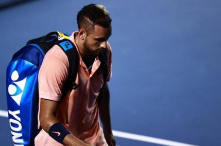 Why was Nick Kyrgios booed off court?