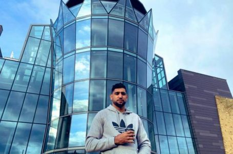 Amir Khan offers his £5m building in Deane to the NHS