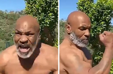 Mike Tyson is in incredible shape at 53