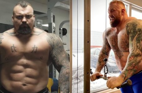 Eddie Hall agrees to boxing match against 'The Mountain'