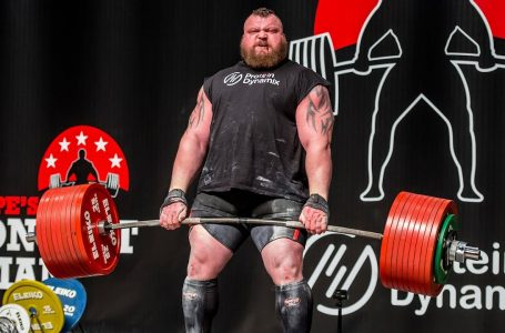 Eddie Hall reveals he thought he was dying after WR 500kg Deadlift